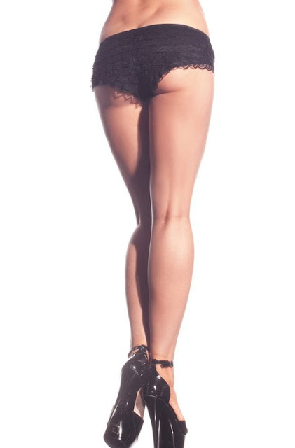 ruffle booty shorts viktor viktoria