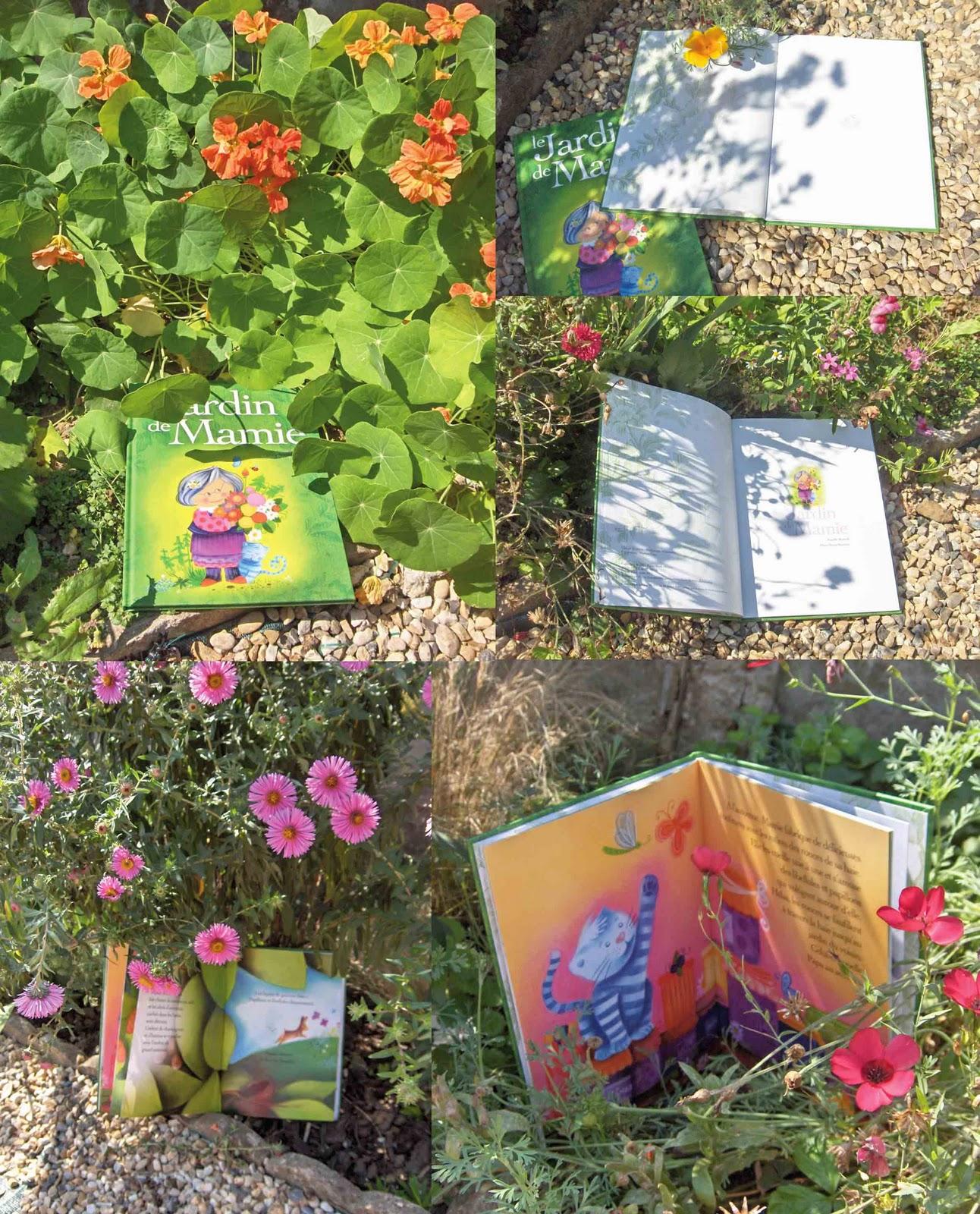 Emorine marie pierre illustratrice jeunesse une petite mamie dans mon jardin - Mamie baise dans le jardin ...