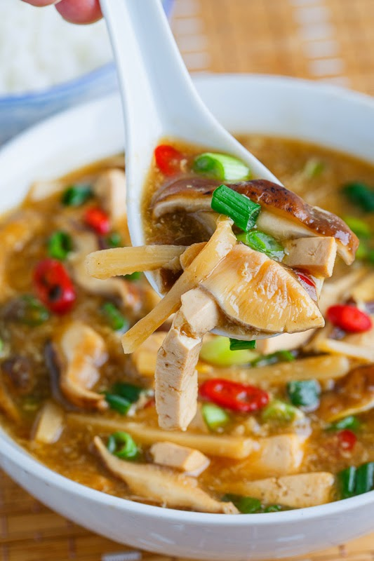 Quick and Easy Chinese Hot and Sour Soup