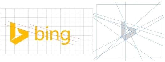 (Chú thích ảnh: Mẫu thiết kế logo mới nhất của Bing không hề có sự khác biệt như bạn nghĩ)