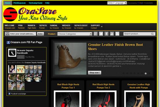 orasare.com, sepatu handmade, sepatu online, toko sepatu handmade online, toko online sepatu handmade, sepatu pernikahan, sepatu pernikahan handmade