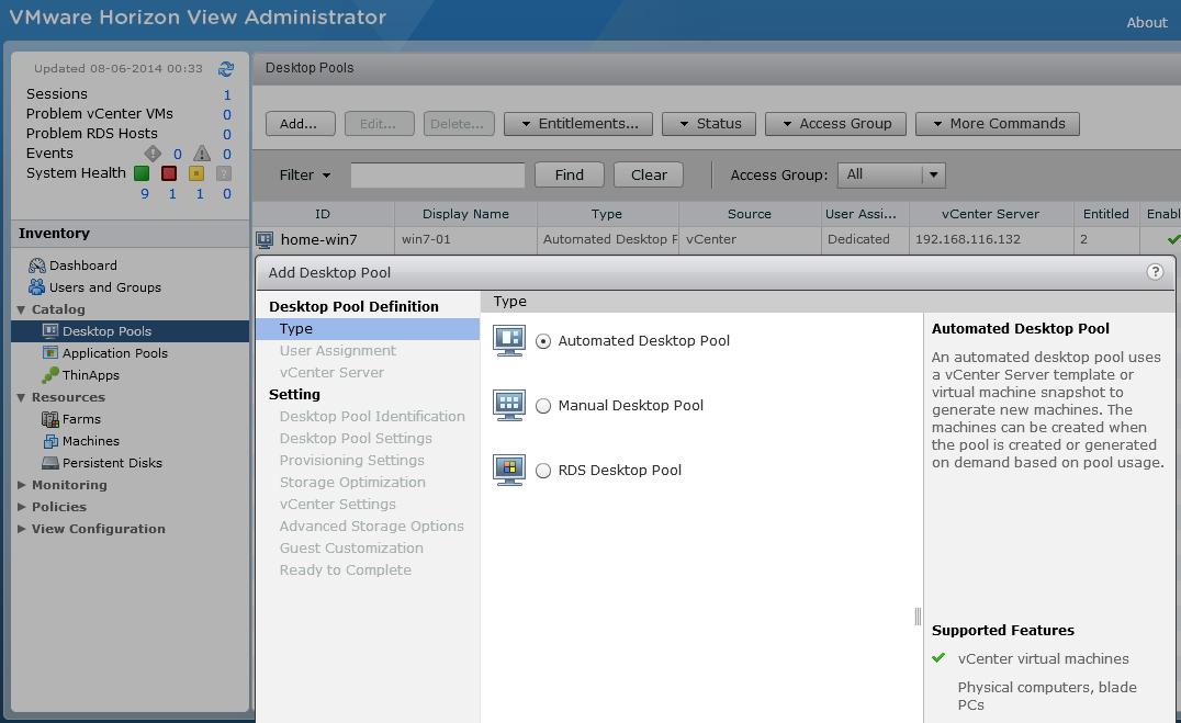 all about virtualization: Provisioning Virtual Desktop through ...