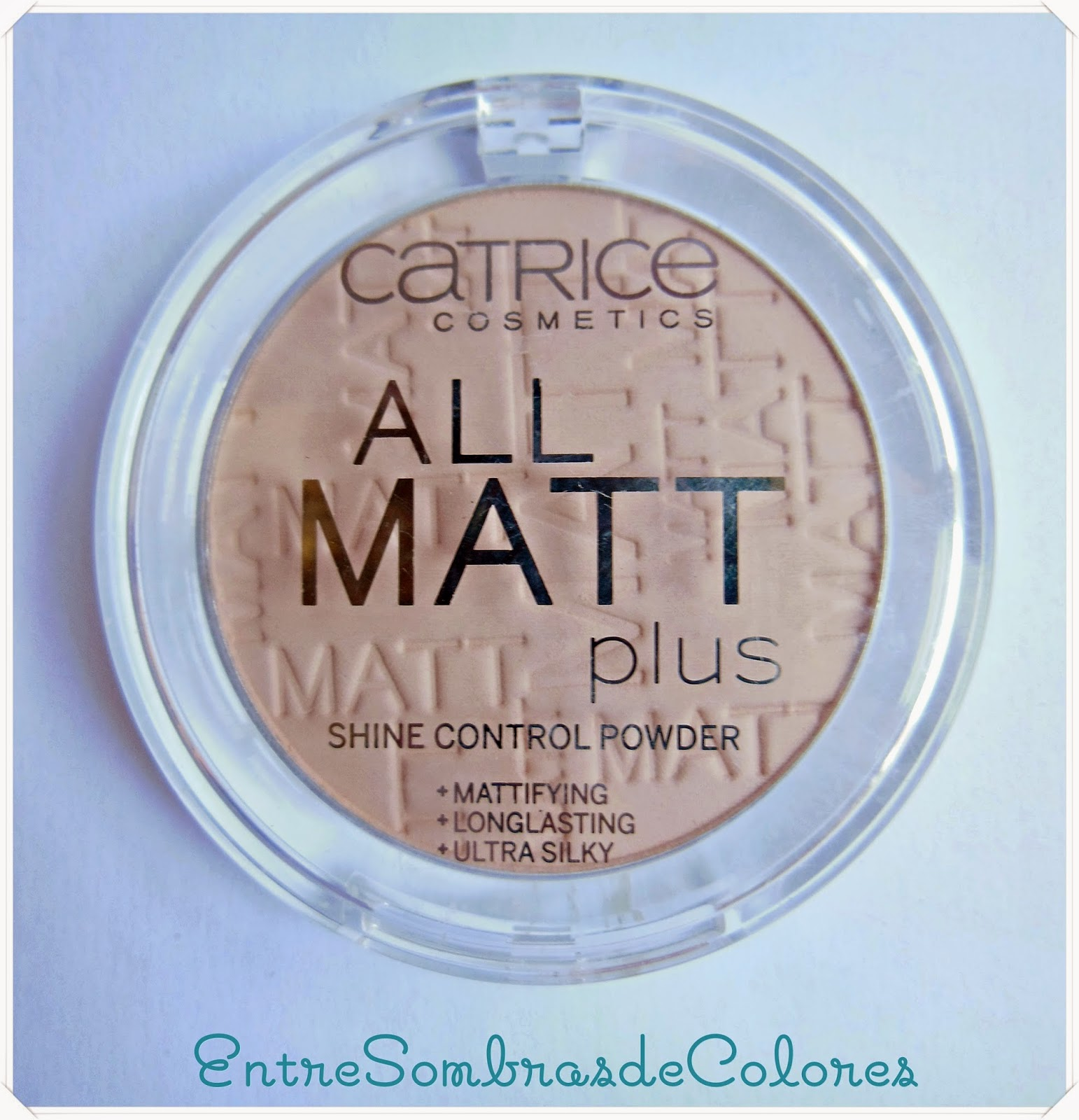 polvos all matt plus Catrice