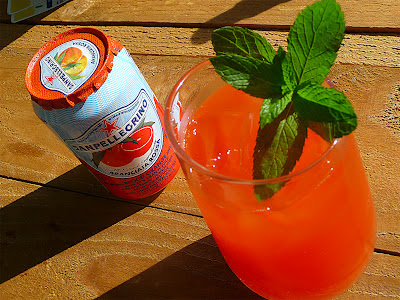 Sanpellegrino Aranciata Rossa ~ A Tuscan Sunset Cocktail