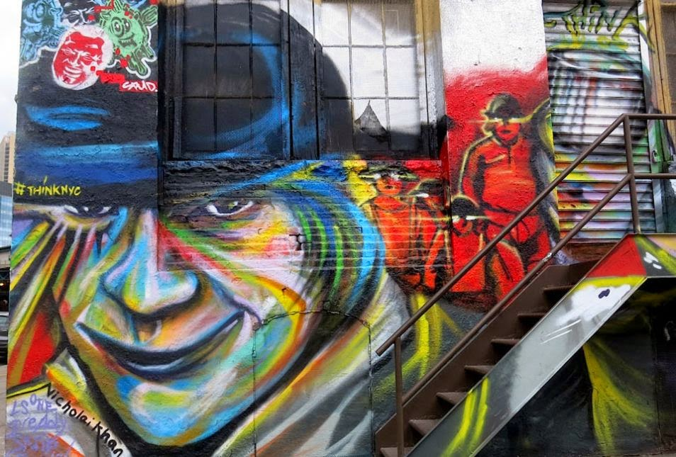 The Best Examples Of Street Art In 2012 And 2013 - Nicholai Khan, 5 Pointz, Queens, NY
