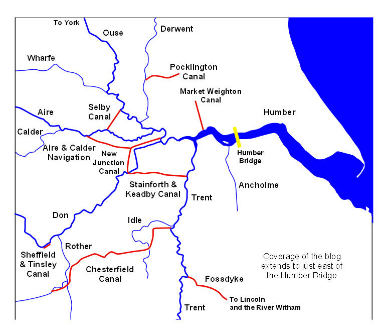 In Idle West Yorkshire: Waterways Of The Humber