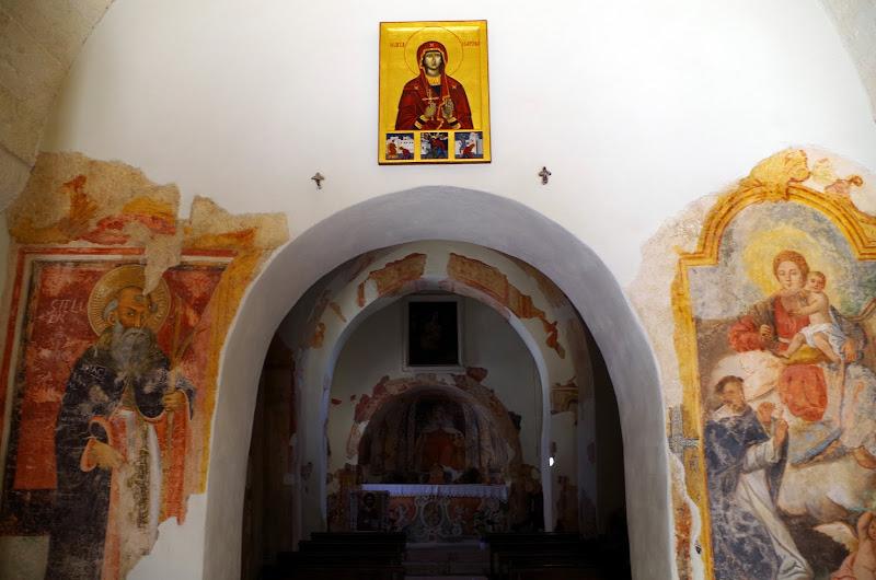 Byzantinische Kirche Santa Marina in Muro Leccese (Apulien)