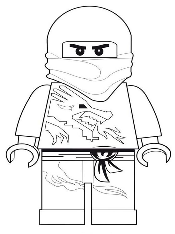 Free Ninjago Lion Coloring Pages Lego Character Coloring Pages