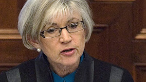 Canadian Chief Justice Beverely McLachlin