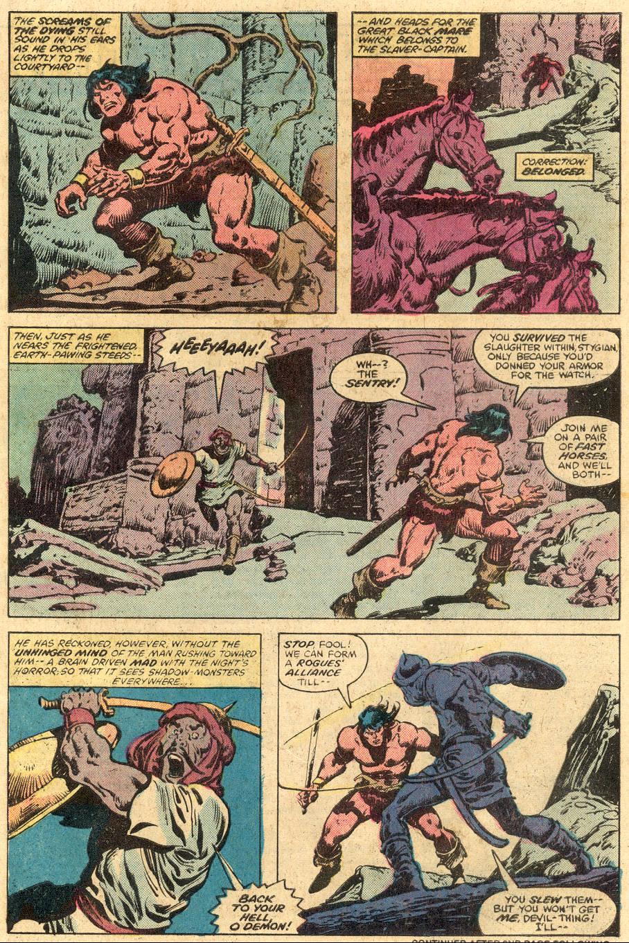 Conan the Barbarian (1970) Issue #105 #117 - English 17