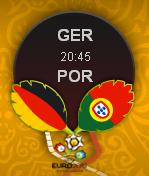 Laga Euro 2012 : Jerman vs Portugal