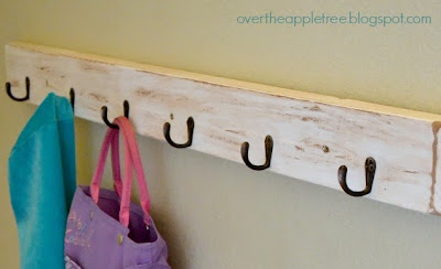 Hallway Hook Board by Over The Apple Tree