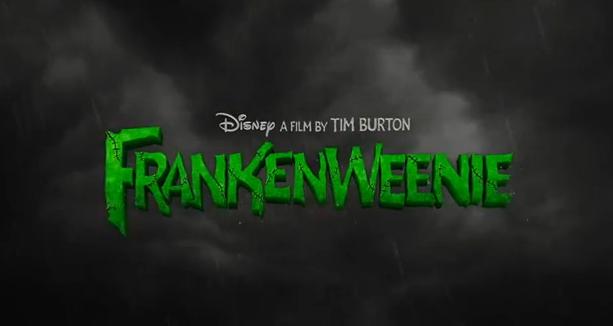 Frankenweenie 2012 Tim Burton Film Walt Disney Title Zombie Dog