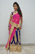 Pavani Gorgeous in half saree-thumbnail-1