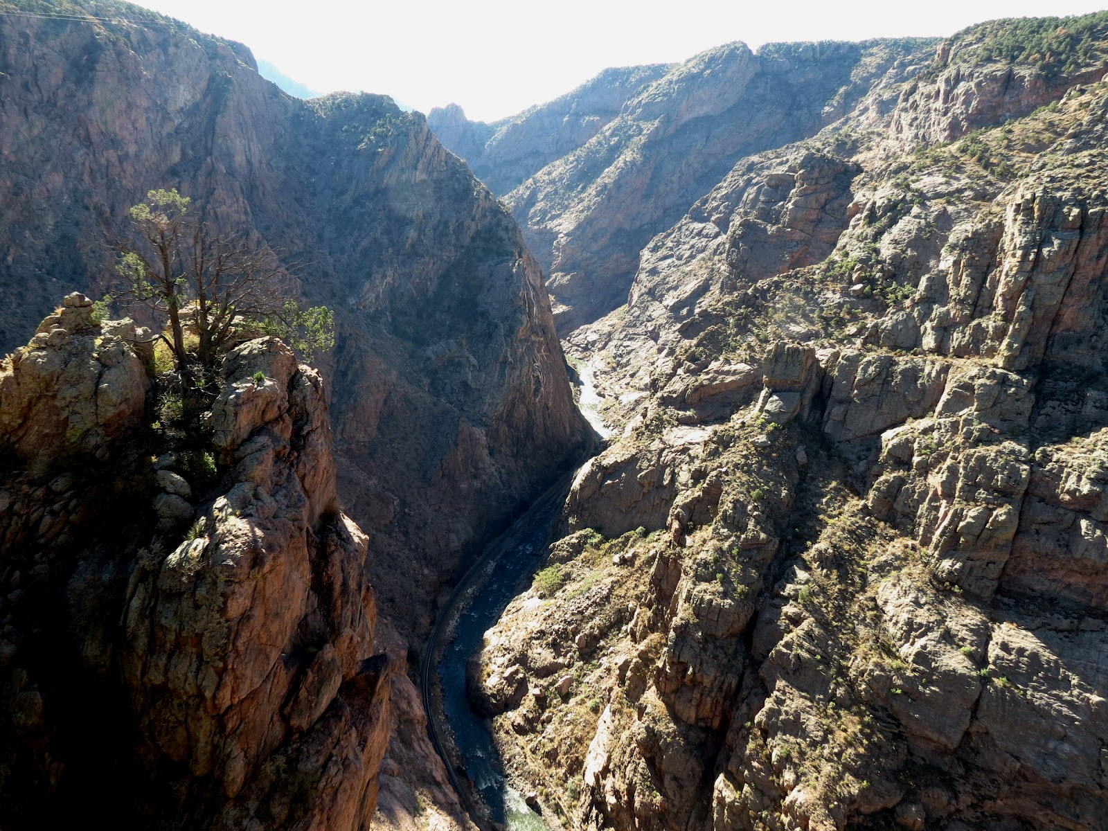 Meandering Royal Gorge Bridge Amp Park