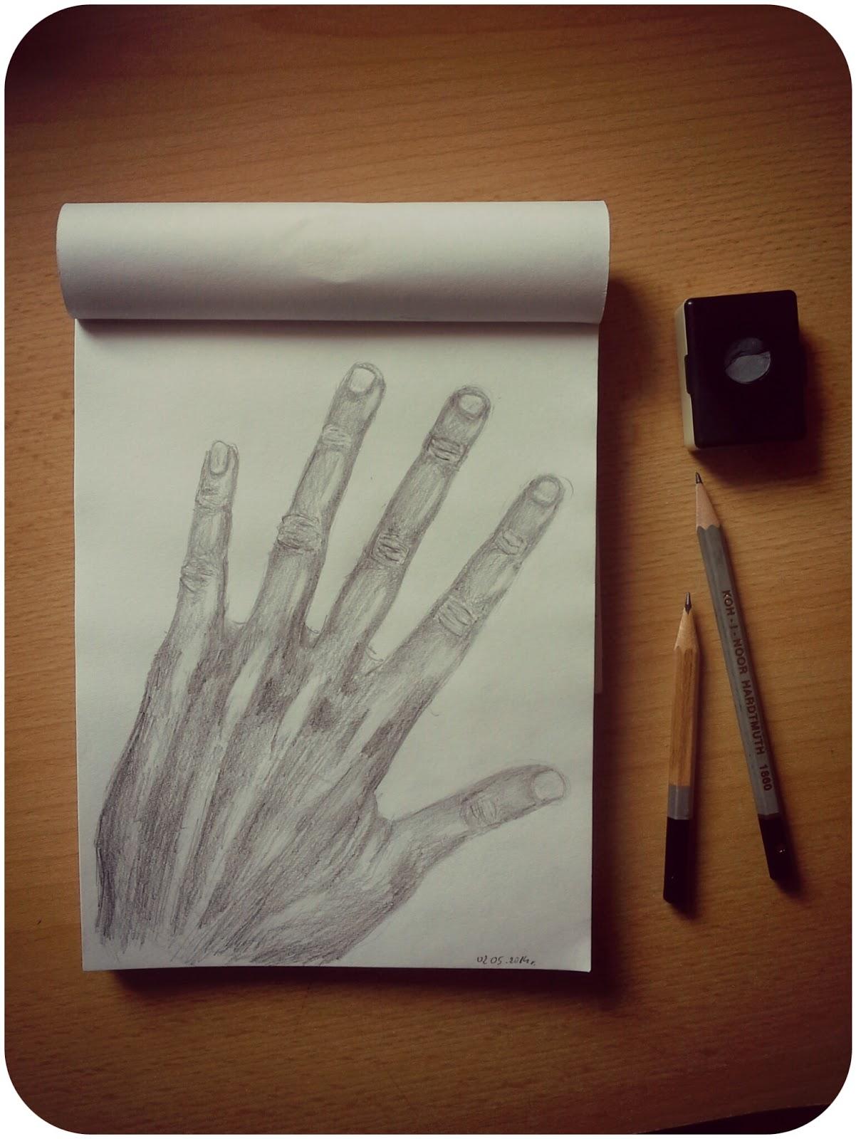 Pierwsze próby- dłoń