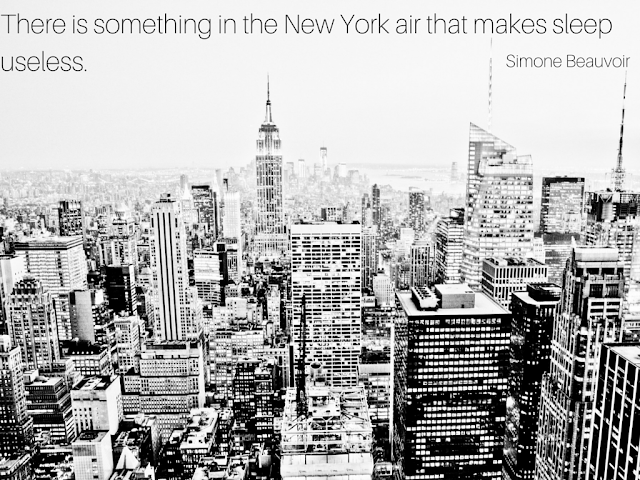 New York City Inspirational Quote