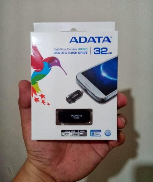 ADATA UD320 USB OTG Flash Drive Box_Front