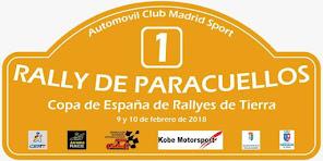 I Rallye de tierra de Paracuellos 2018