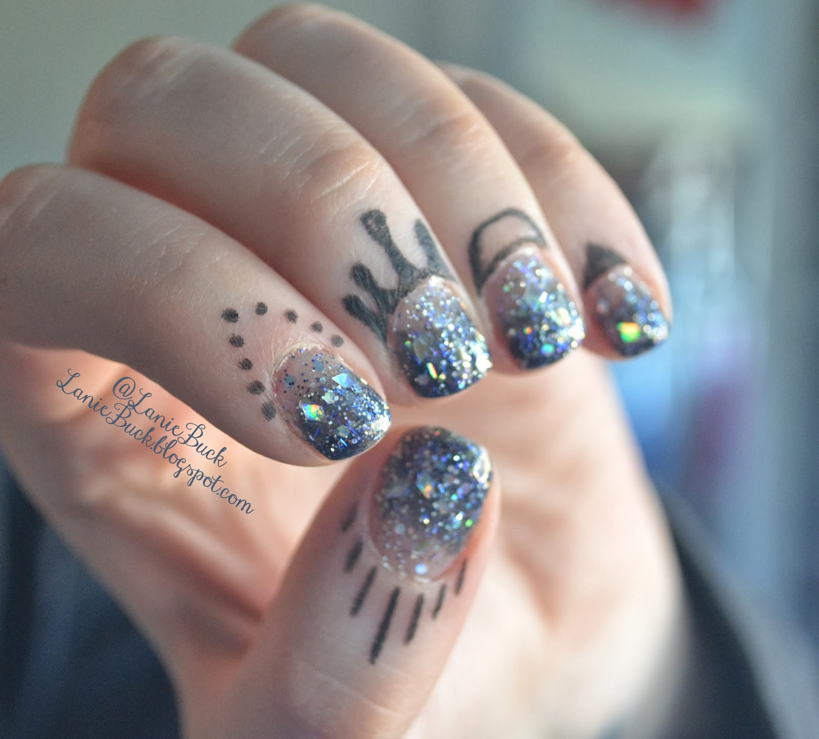 DIY Beauty- Cuticle Tattoos with no Transfers!