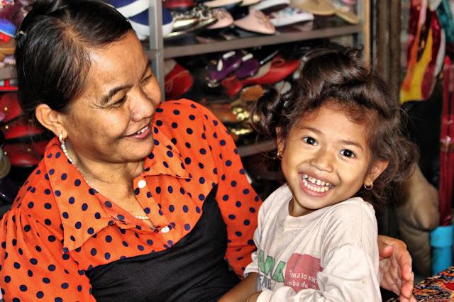 Les sourires khmers