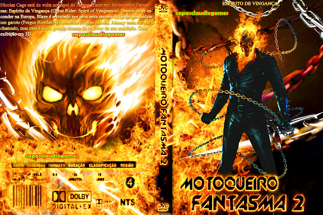 Motoqueiro Fantasma Espírito de Vingança on line