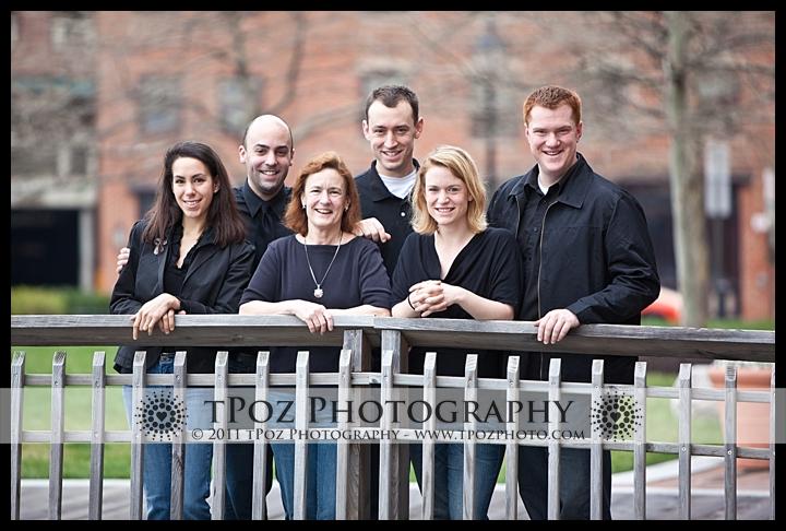 Fells Point Baltimore Family Portrait