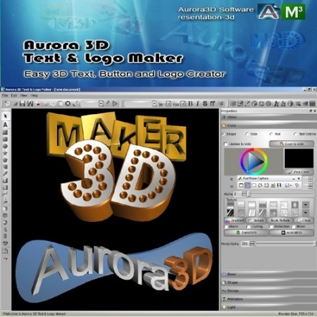 Image Result For Aurora D Text Logo Maker Full