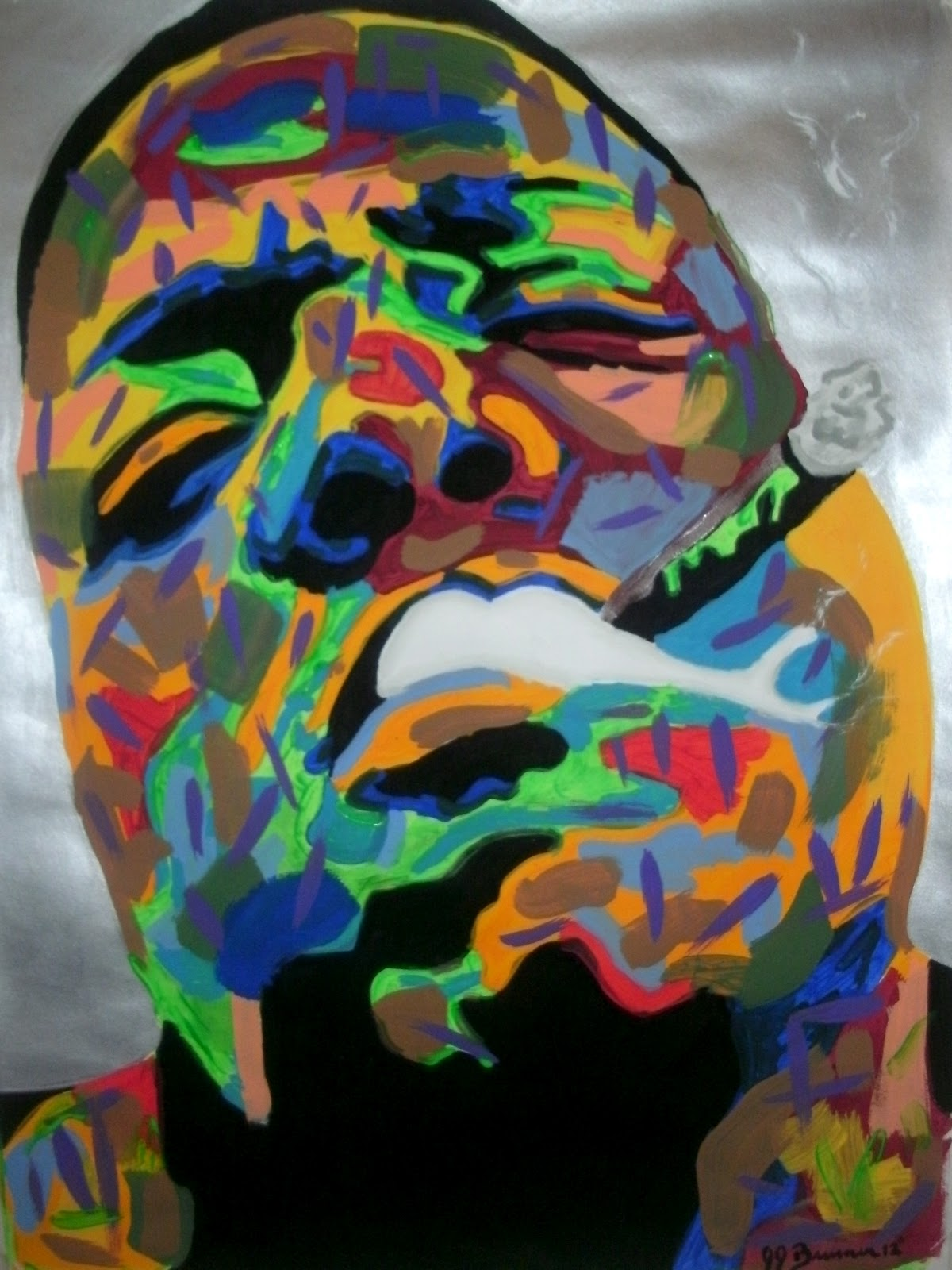Notorious Big Paintings For Sale Artist Jj Burner