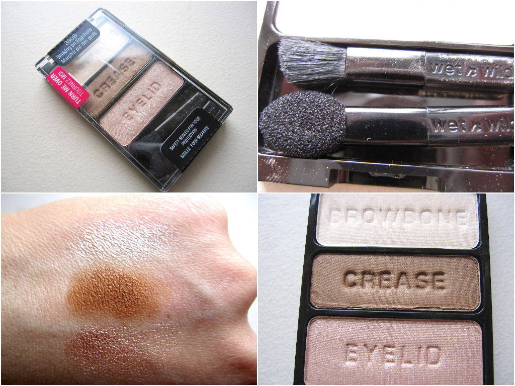 Wet n'Wild Walking on Eggshells swatch review