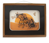 Glasart Hound Dog Wall Art