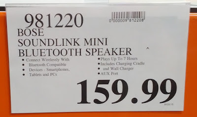 Deal for the Bose Soundlink Mini Bluetooth Speaker at Costco