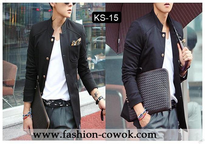 Black Blazer Jaket Korea Style