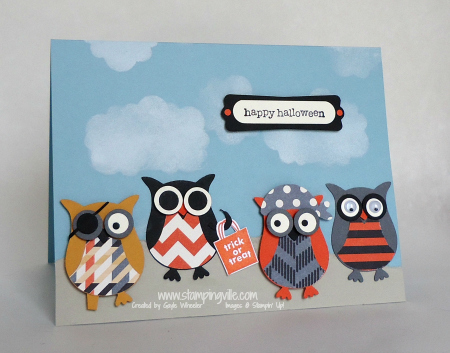 Stampin' Up! Owl Builder Punch Pirates