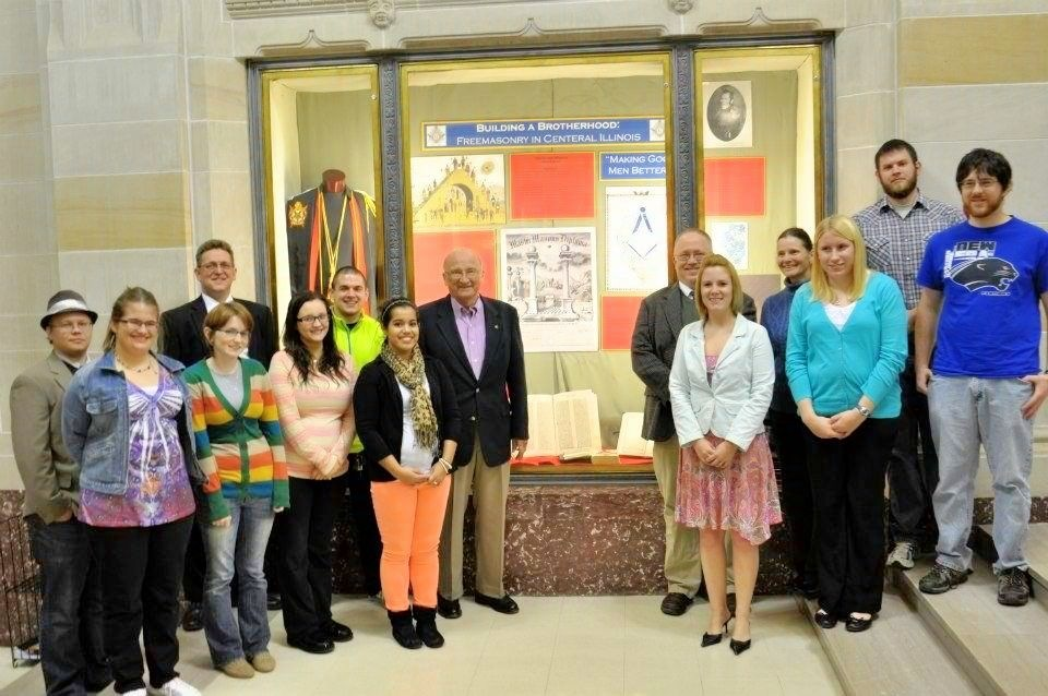 Freemasons For Dummies  Scottish Rite Restores Backdrops  The Masonry In Action Award program was created in      to recognize lodges  who support their members  their communities  and the mission of the Masonic