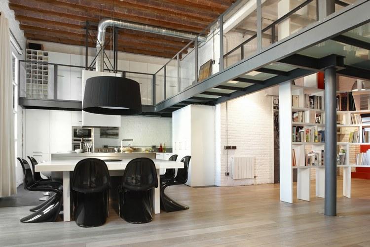 Decoracion Loft Industrial ~   integrados a la perfecci?n en cada uno de los espacios de este loft
