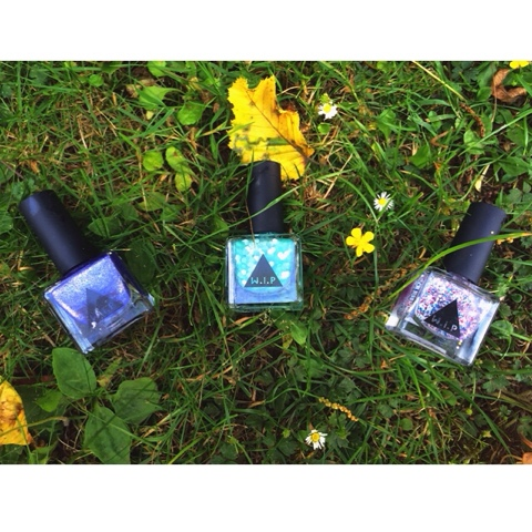 Review of urban outfitters northern lights, secret garden and bonjouri nail polish from their W.I.P range which was on sale.
