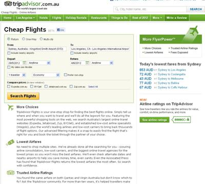 Find best flight options