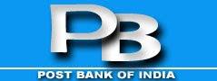 POST BANK OF INDIA