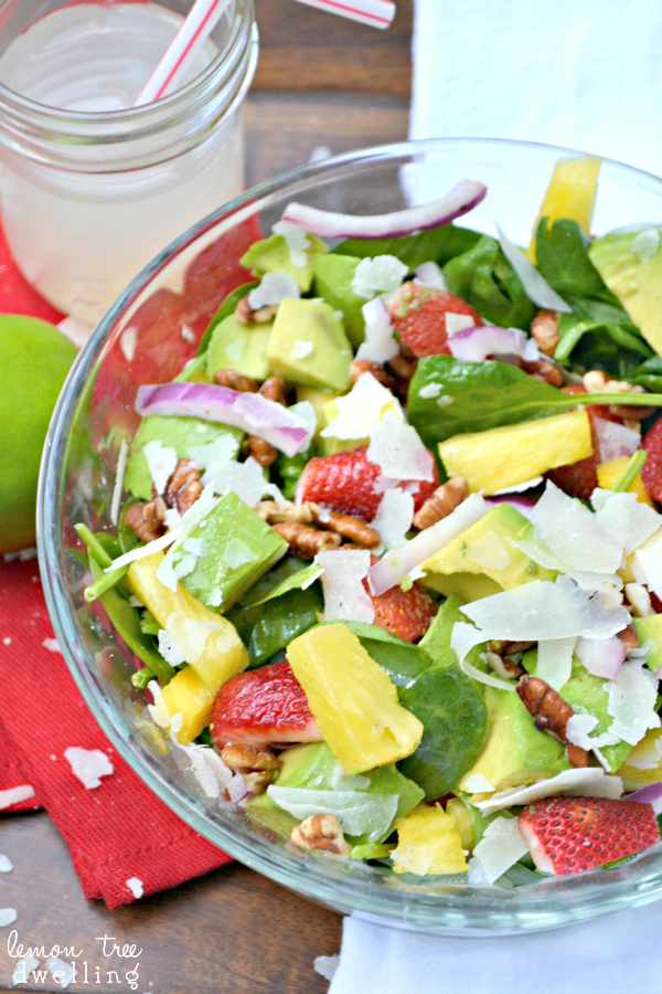 Tropical Chopped Salad Recipe — Dishmaps