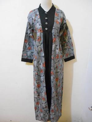 Desain Baju Batik Gamis Pekalongan Orang Gemuk Murah