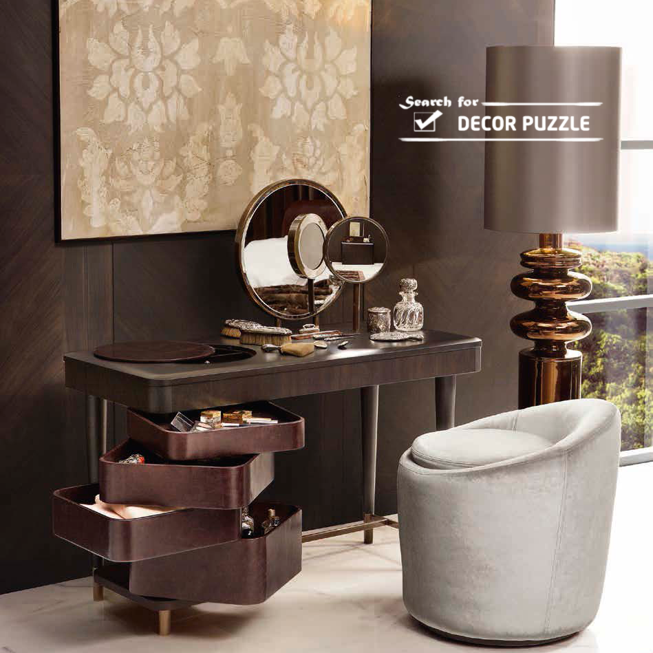 Modern bedroom dressing table with mirror - Latest Modern Dressing Table Designs For Bedroom 2015