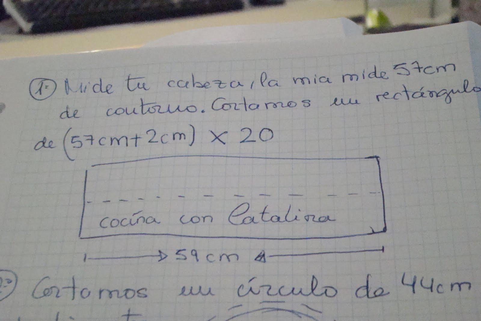 And Sewing: GoRRo de Cocinero paso a paso