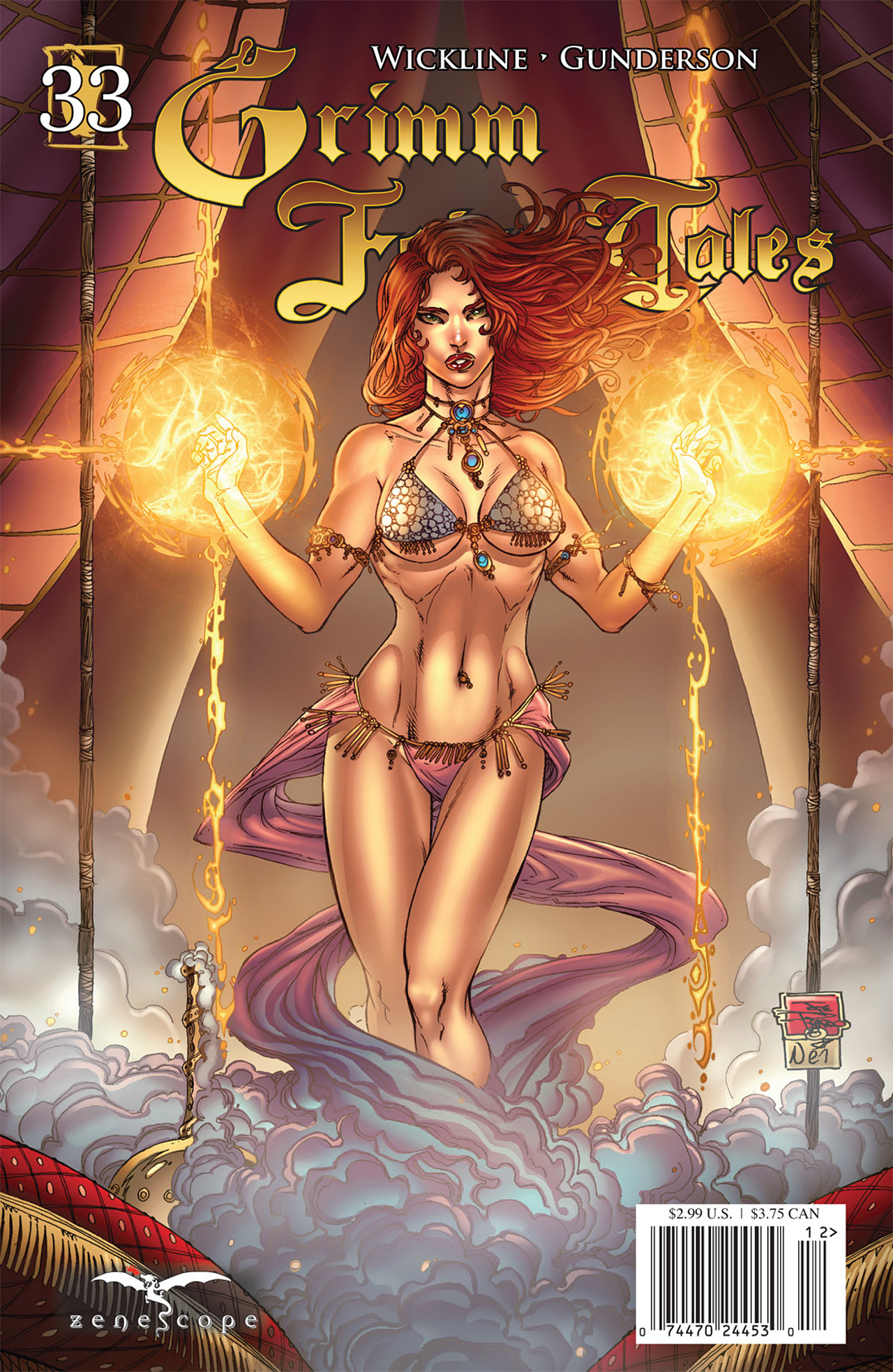 Grimm Fairy Tales (2005) Issue #33 #36 - English 1