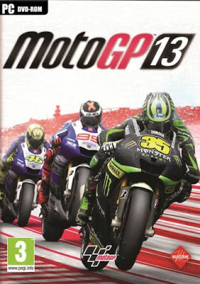 Cover Of Moto GP 13 Full Latest Version PC Game Free Download Mediafire Links At worldfree4u.com