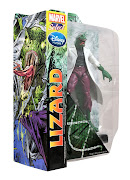 The next figure is the Lizard, the longtime foe of SpiderMan and his .