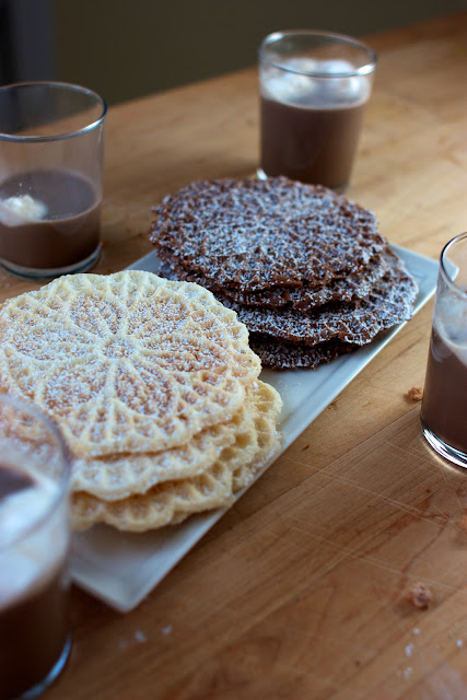 Dairy and Egg-Free Pizzelles