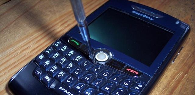 Cara Mengatasi Trackball BlackBerry Yang Macet