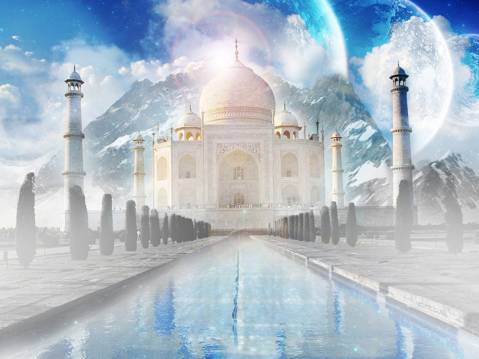 taj mahal free wallpapers online 7 wonders wallpapers