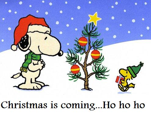 Snoopy And Woodstock Christmas Wallpaper gallery